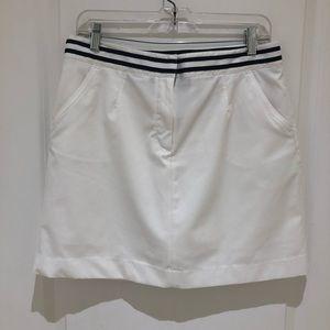 Tommy Hilfiger White Golf Skirt 6